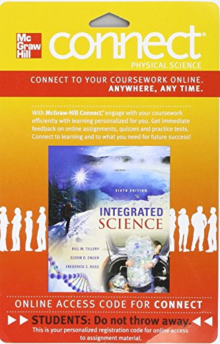 9780077437763: Connect Physics (1 sem) Access Card for Integrated Science