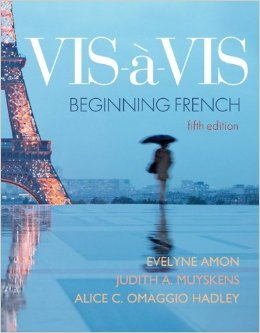 9780077438364: Vis-a-vis Beginning French Fifth Edition, Vplume 2