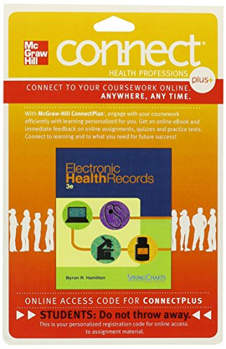 9780077438524: Connect Plus Allied Health 2-SemesterAccess Card for Electronic Health Records