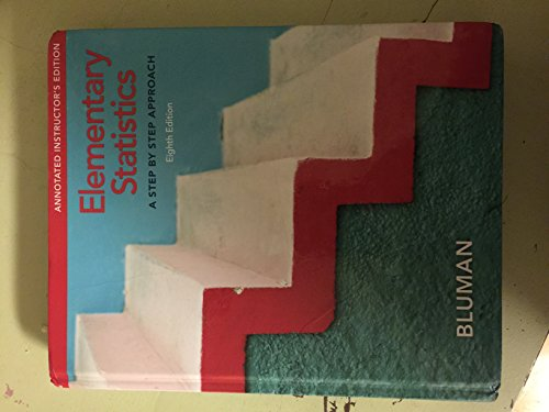 9780077438586 Elementary Statistics A Step By Step Approach