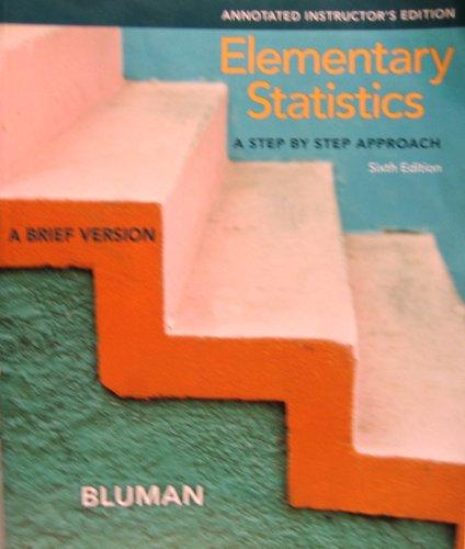 9780077438791: Elementary Statistics: A Brief Version