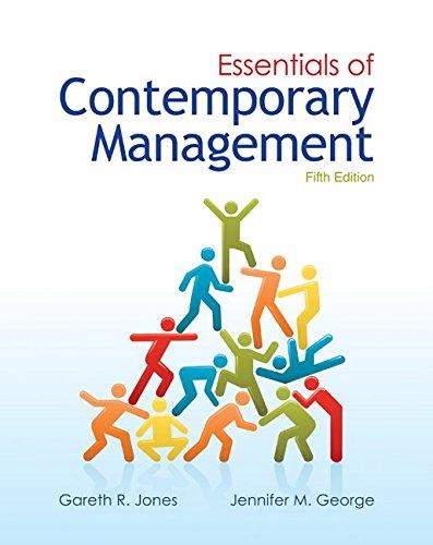 9780077439477: Loose-Leaf Essentials of Contemporary Management
