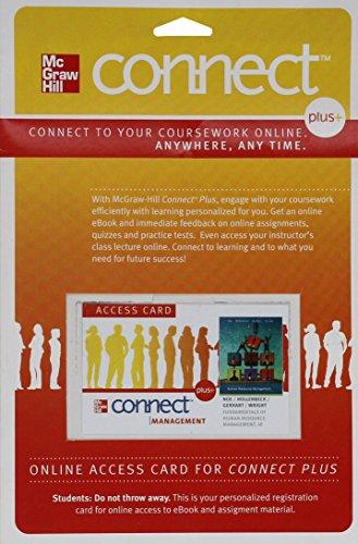Connect Plus Human Resource Management 1 Semester: Wright, Patrick