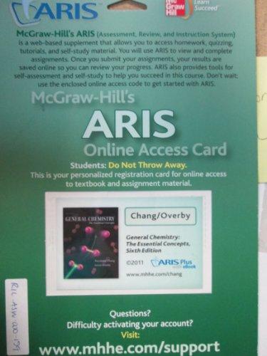 9780077440022: McGraw-Hill's ARIS Online Access Card