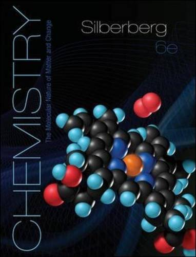 9780077440565: Chemistry: The Molecular Nature of Matter and Change