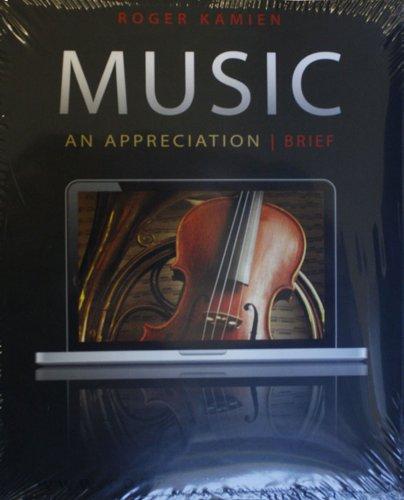 MUSIC:APPRECIATION,BRIEF-W/ACC: Roger Kamien