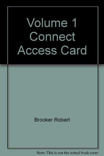 Volume 1 Connect Access Card: Brooker, Robert, Widmaier,