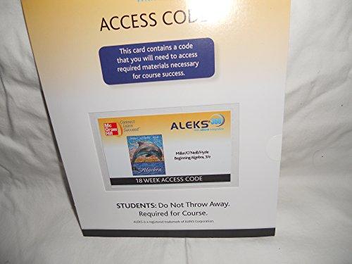 9780077440947: ALEKS 360 Access Code for Beginning Algebra