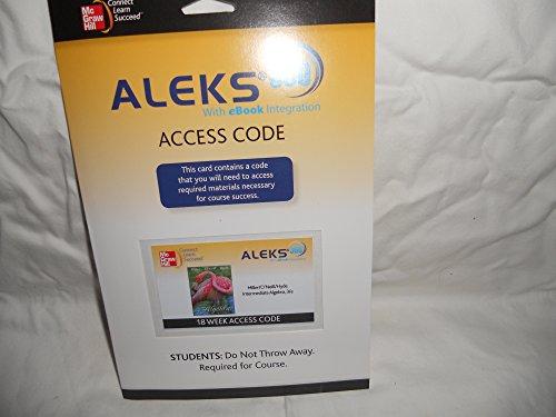 9780077440961: ALEKS 360 ACCESS CODE for Intermediate Algebra
