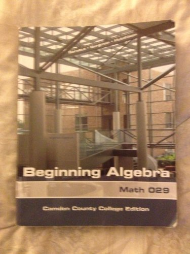 9780077441340: Beginning Algebra Math 029