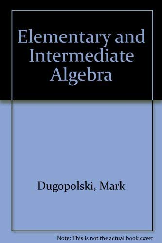 9780077441418: Elementary and Intermediate Algebra