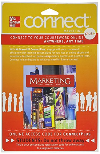 9780077441821: Connect 1-Semester Access Card for Marketing
