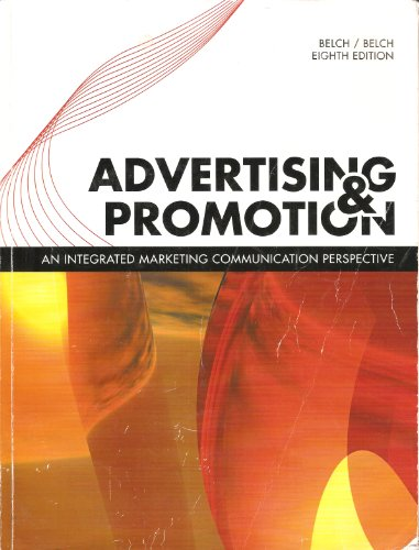 9780077442866: Advertising & Promotion an Integrated Marketing Communication Perspective