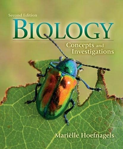 9780077443009: Biology: Concepts and Investigations