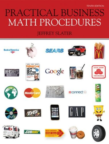 9780077443528: Practical Business Math Procedures with Business Math Handbook, WSJ, DVD V2