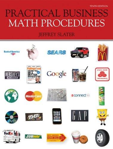 9780077443528: Practical Business Math Procedures with Business Math Handbook, WSJ, DVD V2