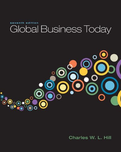 9780077443924: Loose-Leaf Hill Global Business Today 7e