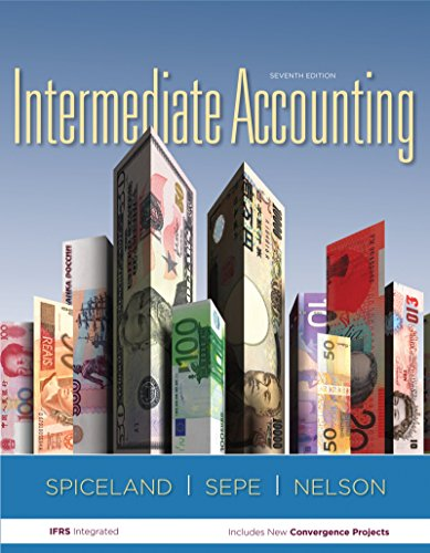 Working Papers for Intermediate Accounting (0077446453) by J. David Spiceland; James Sepe; Mark Nelson