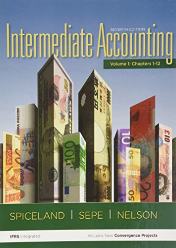 Intermediate Accounting: SPICELAND, J. DAVID