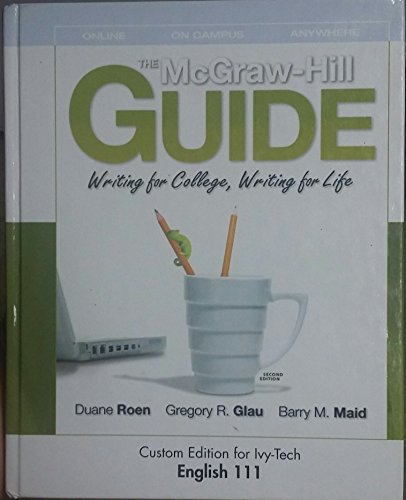 9780077446697: MCGRAW-HILL GUIDE:WRITING ETC.