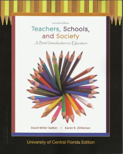 9780077447861: Teachers, Schools and Society: A Brief Introduction to Education