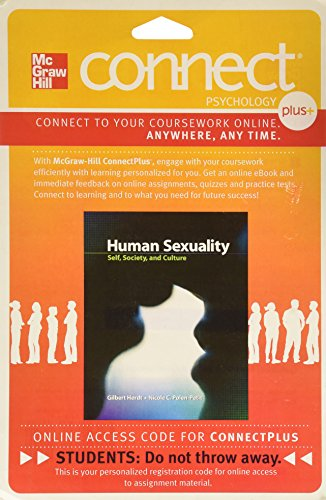 9780077448189: Connect Access Card for Human Sexuality: Self, Society, and Culture