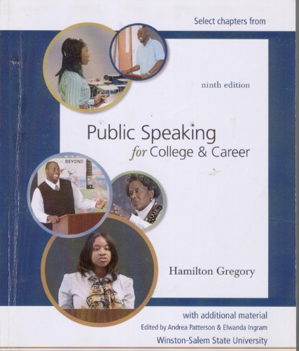 9780077449223: Public Speaking for College & Career (Select Chapters with additional material)