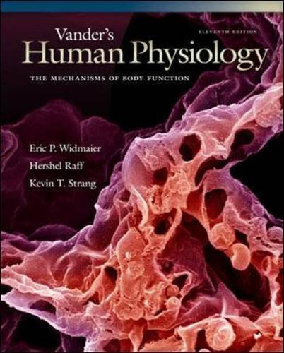 9780077450632: Loose Leaf Version of Vander's Human Physiology