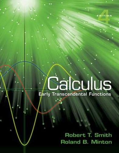 9780077450854: Calculus: Early Transcendental Functions
