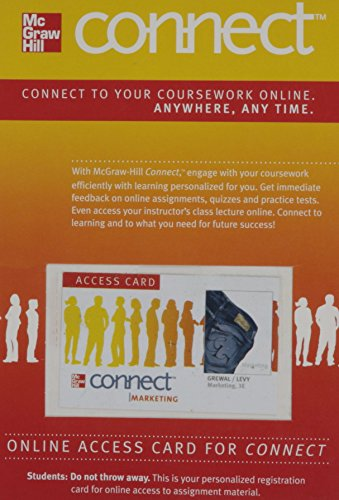 9780077450908: Connect Marketing with LearnSmart 1 Semester Access Card for Marketing