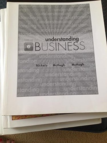 9780077451462: Understanding Business (Custom Edition for Monroe Community College) (Monroe Community College Custom, Monroe Community College Custom)