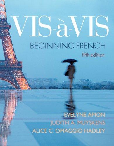 9780077452254: Looseleaf for Vis-à-vis: Beginning French (Student Edition)