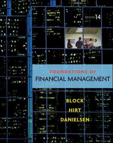9780077454432: Foundations of Financial Management, 14th Edition