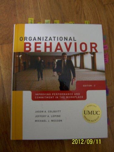 9780077457280: Organizational Behavior