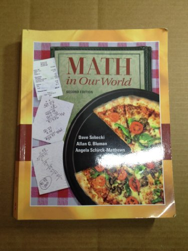 9780077457730: Math in Our World
