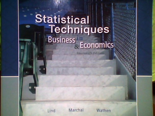 9780077458430: Statistical Techniques in Business & Economics