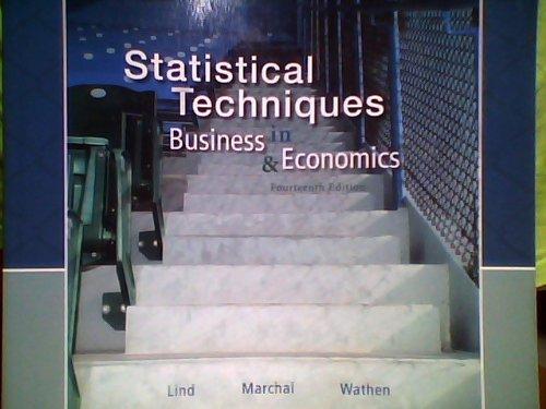 9780077458430: Statistical Techniques in Business & Economics