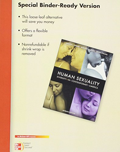 9780077459710: Looseleaf for Human Sexuality: Diversity in Contemporary America