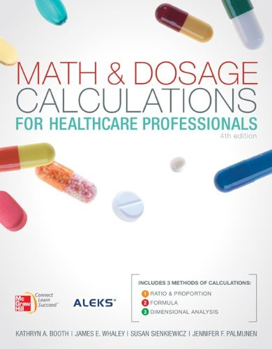 9780077460389: Math and Dosage Calculations for Health Care Professionals with Student CD