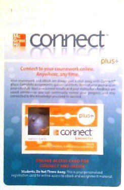 9780077460525: ConnectPlus Online Access Code for Organic Chemistry (UC-Irvine LSO)