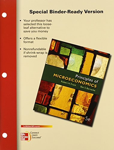 9780077464363: Loose-Leaf Principles of Microeconomics