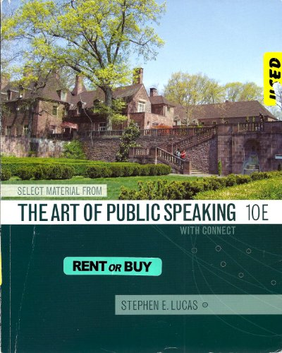 9780077464370: The Art of Public Speaking w/ Connect Access Code