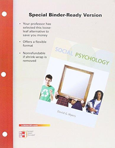 9780077466909: Looseleaf for Social Psychology