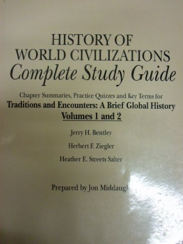 history of civilization study guide Western civilization ii clep - a free study guide resource exam description: the western civilization ii clep covers european history from the end of the 17th century to the present day.
