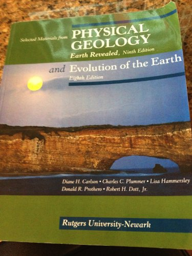 9780077467593: Physical Geology and Evolution of the Earth