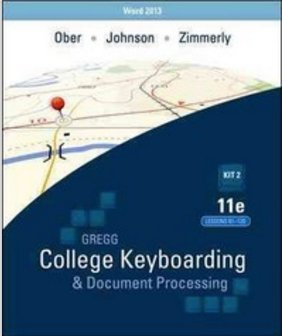 9780077467623: Gregg College Keyboarding & Document Processing, Kit 2, Lessons 61-120: for Word 2010, 11th Edition