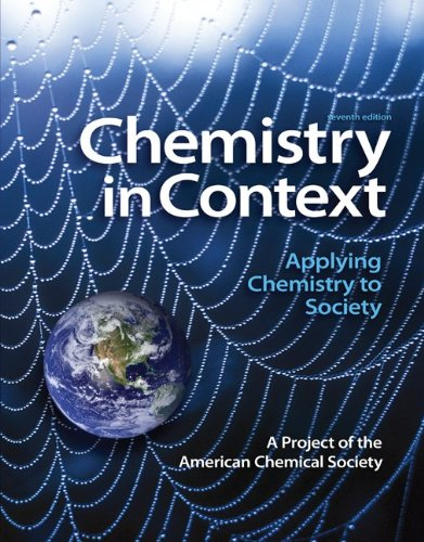 9780077468460: Package: Chemistry in Context with Connect Access Card