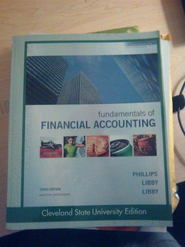 9780077469979: Fundamentals of Financial Accounting