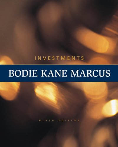 Loose Leaf Investments (The Mcgraw-hill/Irwin Series in: Kane, Alex, Marcus,