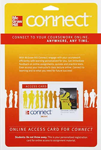 9780077473143: Connect Music Access Card for Experience Music